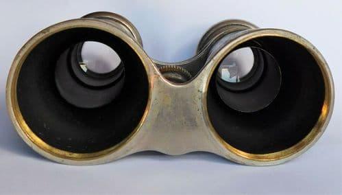 Vintage binoculars opera glasses